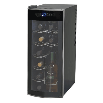 7 X Avanti 12 Bottle Thermoelectric Counter Top Wine Cooler - Model EWC1201