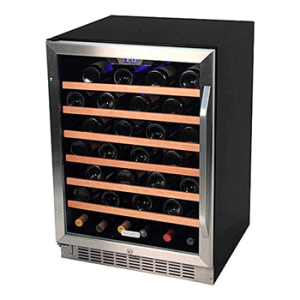 EdgeStar-53-Bottle-Built-In-Wine-Cooler---Stainless-Steel-Black
