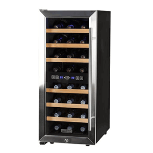 Koldfront-24-Bottle-Free-Standing-Dual-Zone-Wine-Cooler---Black-and-Stainless-Steel1