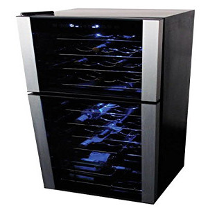 Koolatron 45-Bottle Dual Zone Wine Cellar