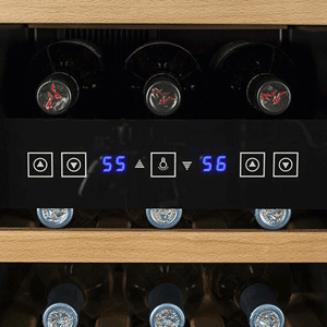 Koldfront 18 Bottle Dual Zone Wine Cooler