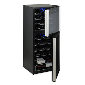45-bottle dual zone wine cellar review