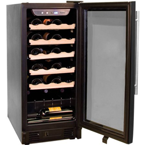 New - Haier HVCE15BBH Built -In 26-Bottle Wine Cellar